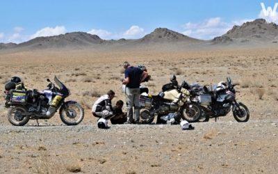 Mongolsko: Jak jsme píchli v polopoušti a málem tam nechali duši