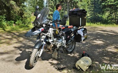 Kanada: Medvědi, píchlá guma a zdechlá pumpa