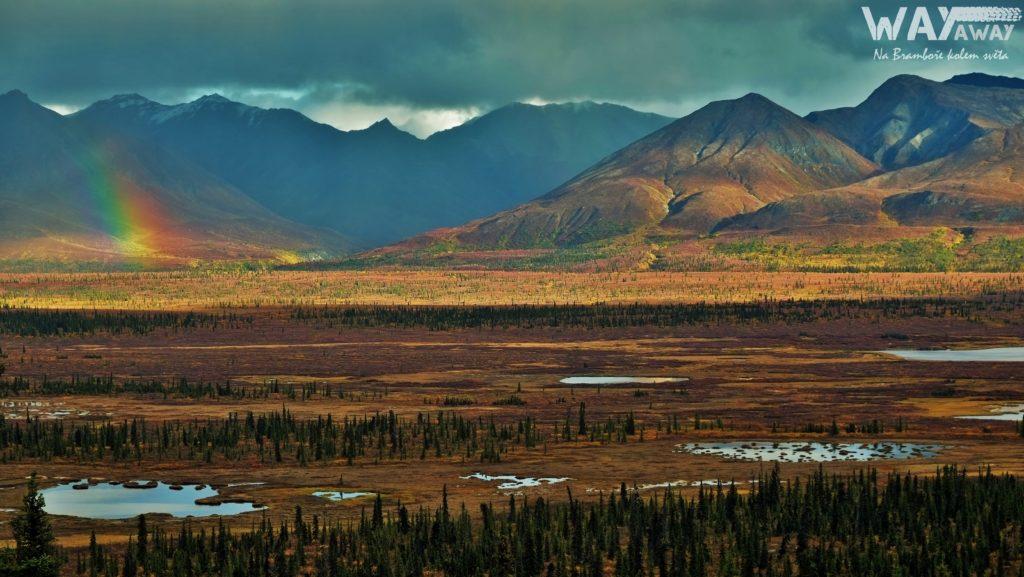 Alaska Route 1 - krása střídá nádheru.