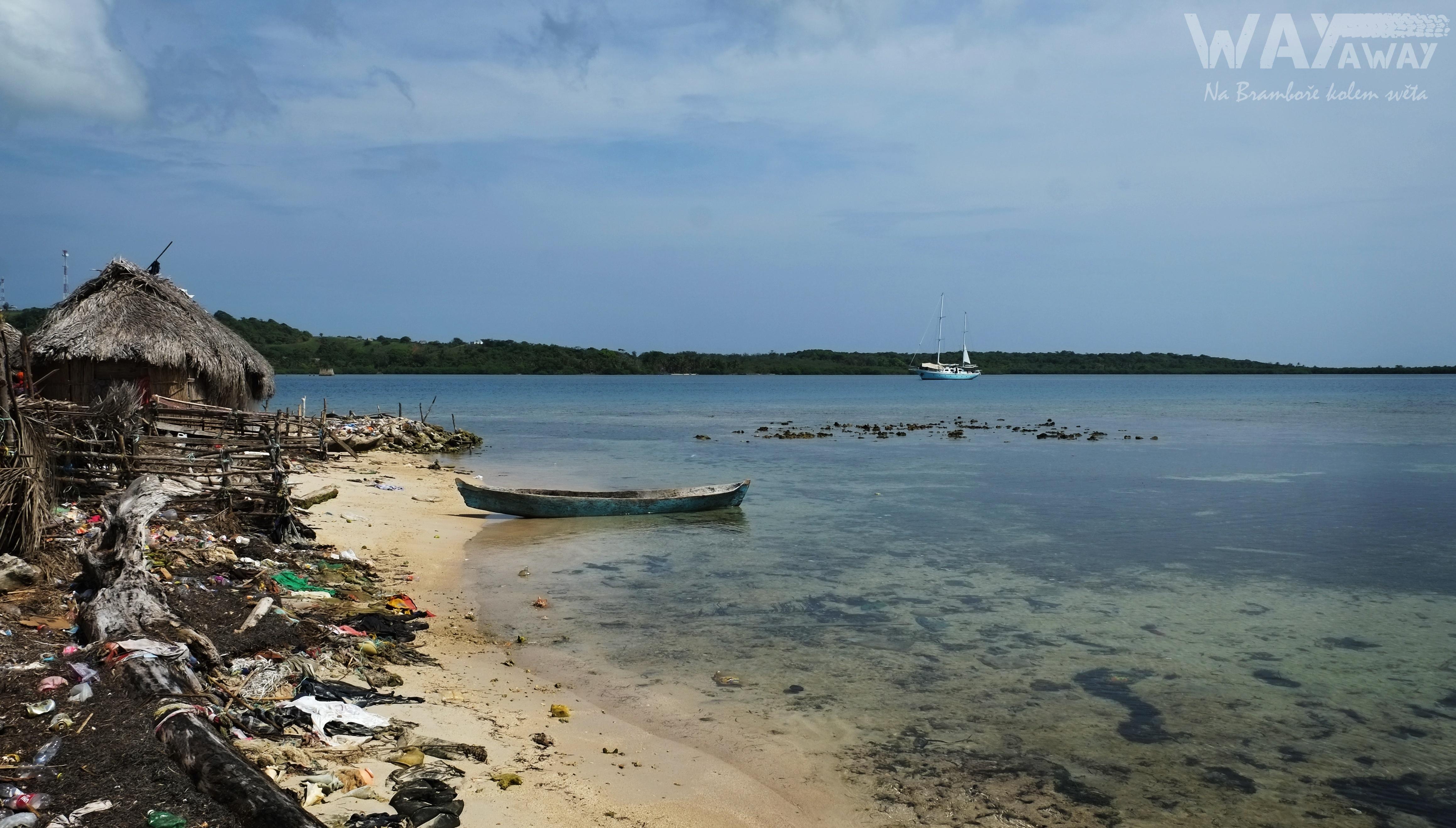 Na souostroví San Blas nevědí, kam s odpadky