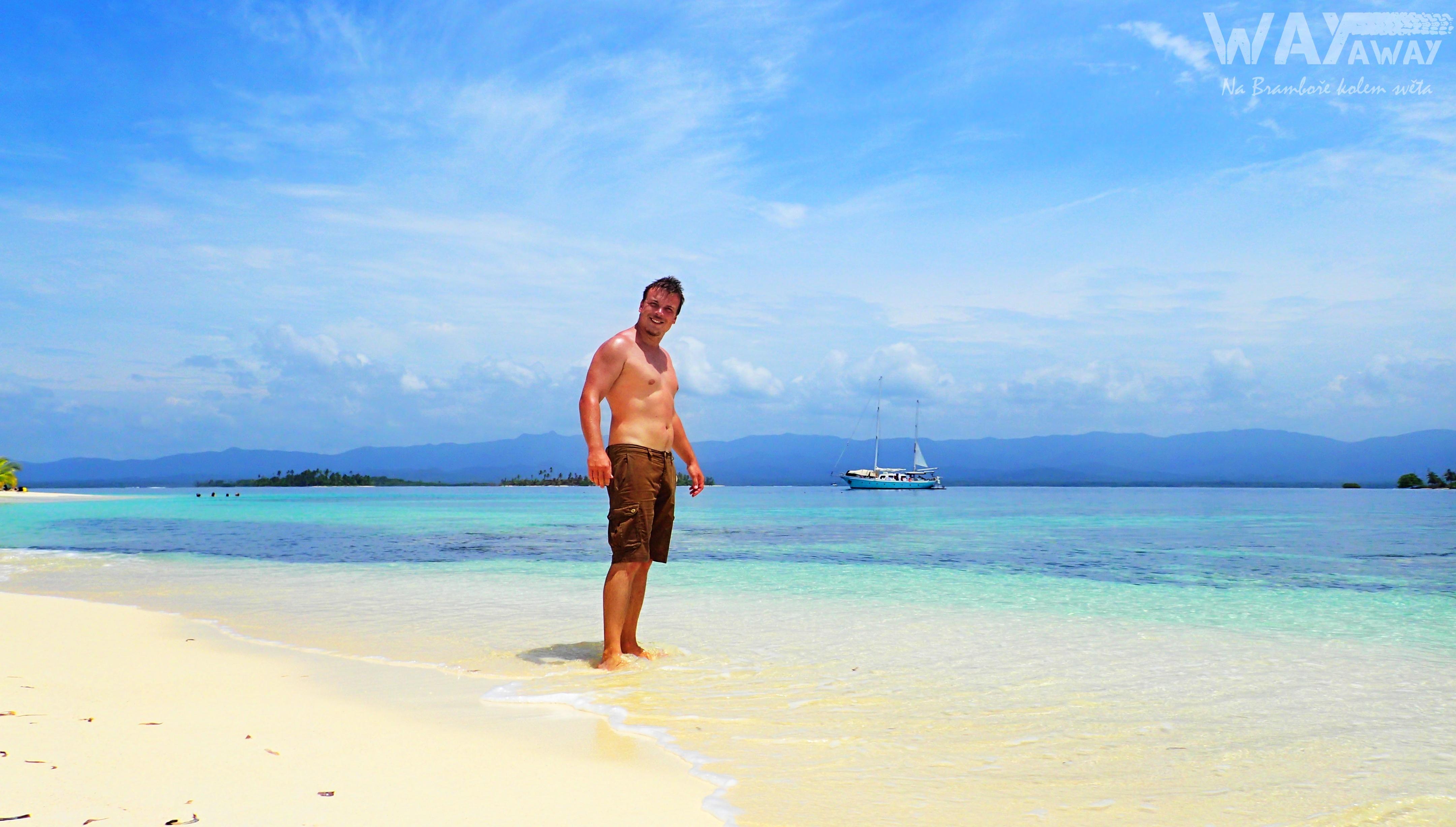 Běloucí písek, průzračně čisté moře, slunce... prostě pohoda!