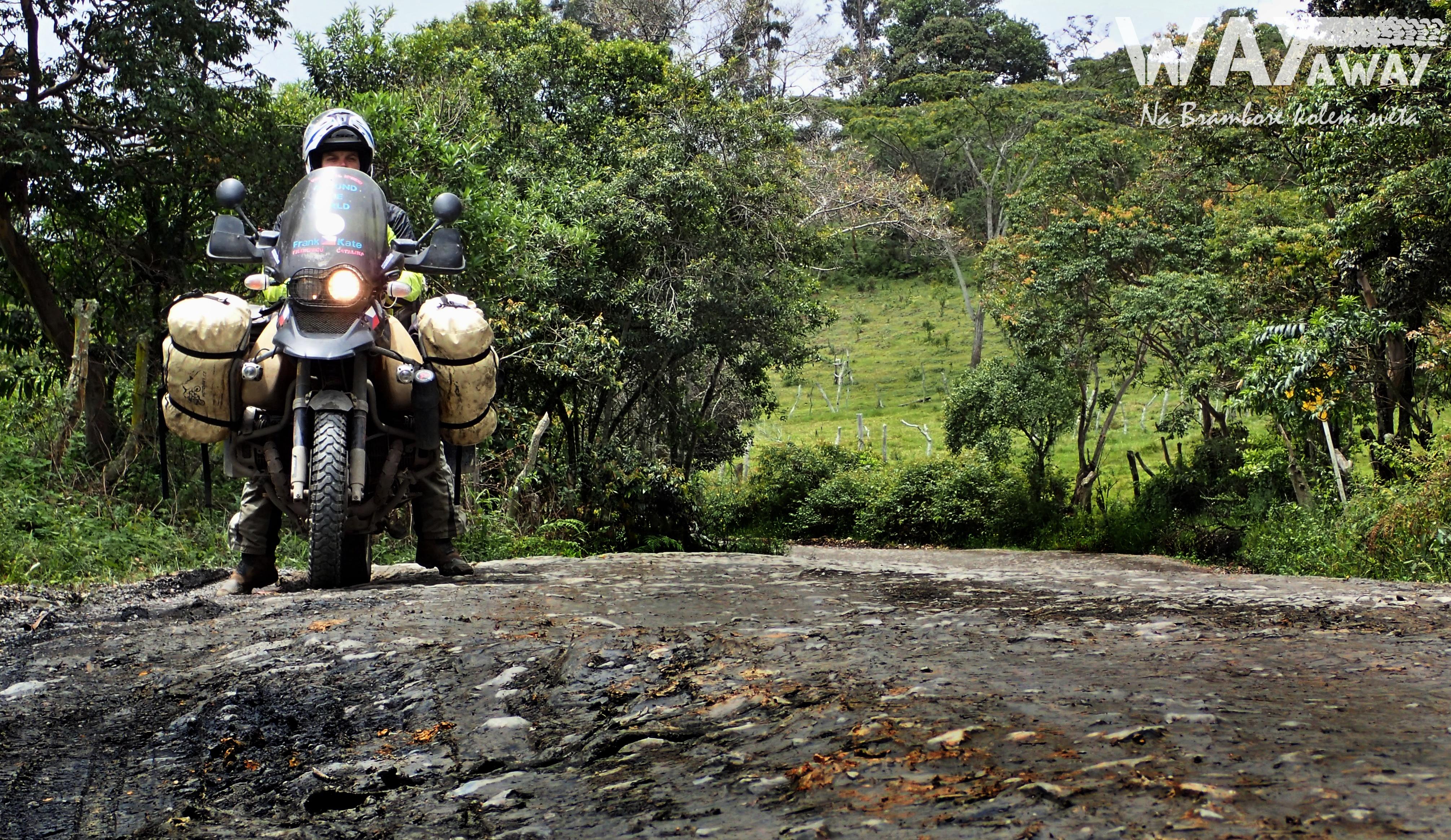 Cestou necestou překrásnou Kolumbií