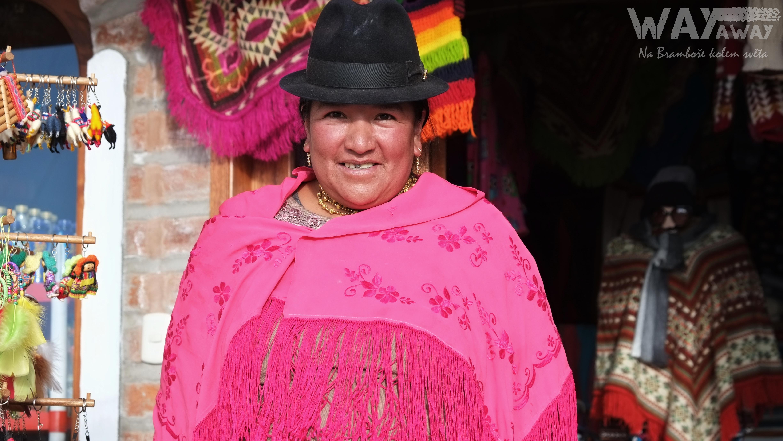 Indiánka kmene Kečua, Ekvádor
