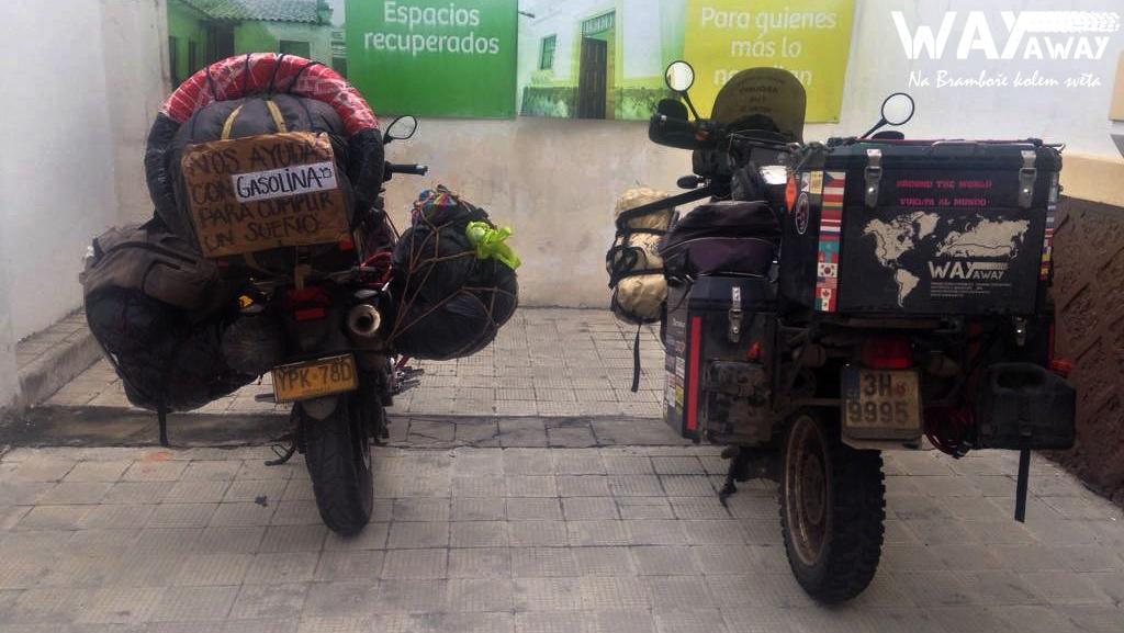 Brambora vs. motorka Diego