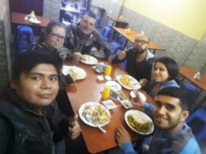 Společná večeře v Chiclayu