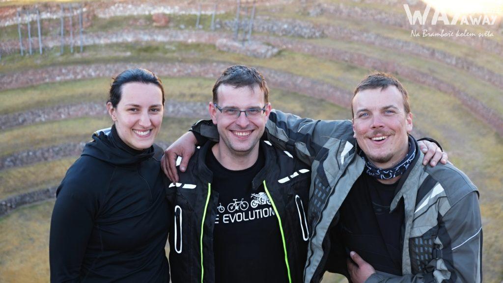 S kamarády Láďou a Ivetou při návštěvě Moray