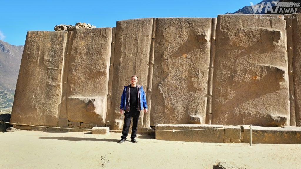 Zeď šesti monolitů, Ollantaytambo