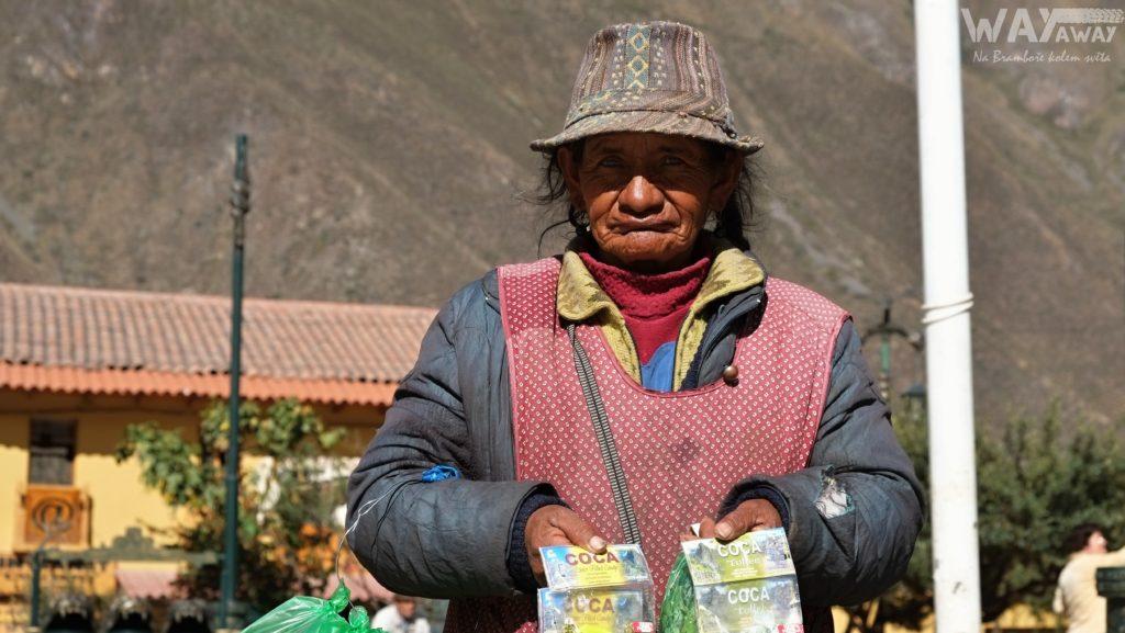 Prodavačka koky, Peru