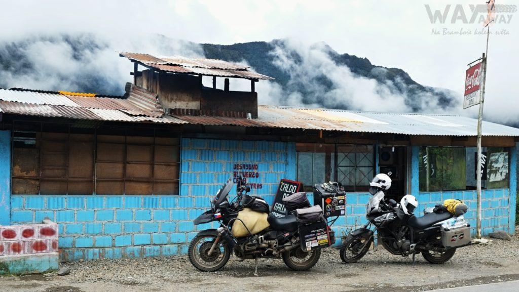 Na motorkách v Peru