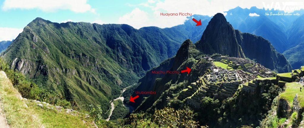 Machu Picchu, Huayana Picchu, Urubamba
