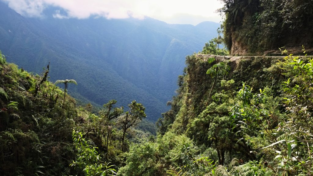 Cesta smrti, Bolívie
