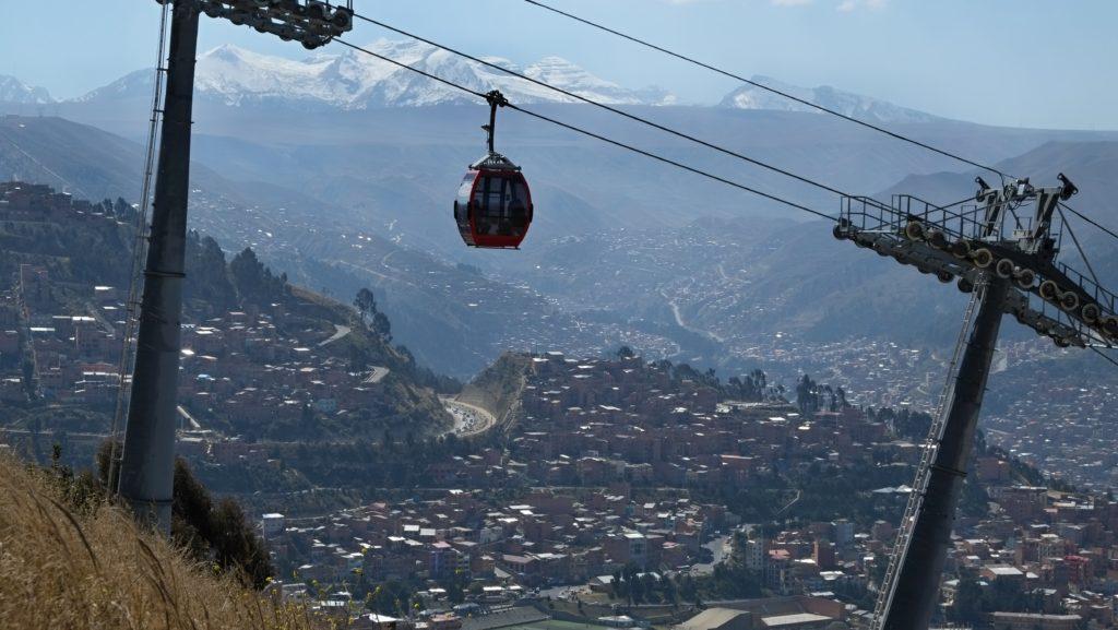 Lanovka z El Alta do La Paz