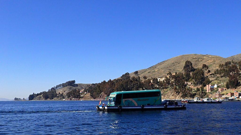 Úžina Tiquina, Bolívie