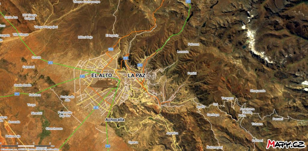 El Alto a La Paz