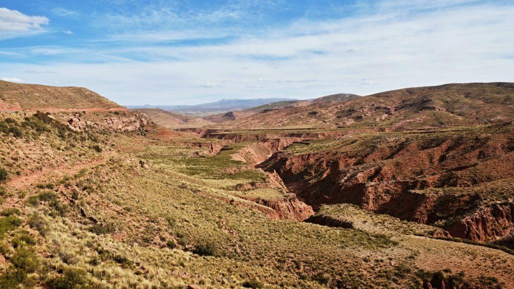 Příroda v Bolívii je překrásná